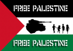 FREE PALESTINE - STICKER